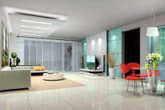 Interior design projects planing