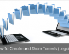 Upload and share torrent file